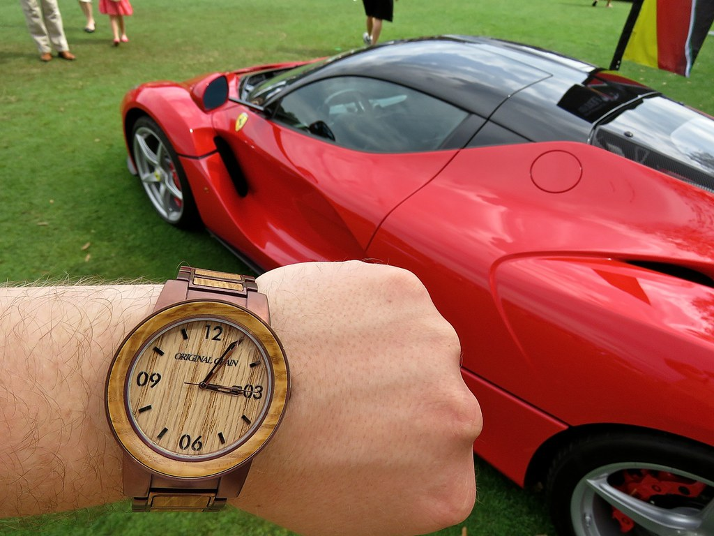 Original Grain Watch LaFerrari