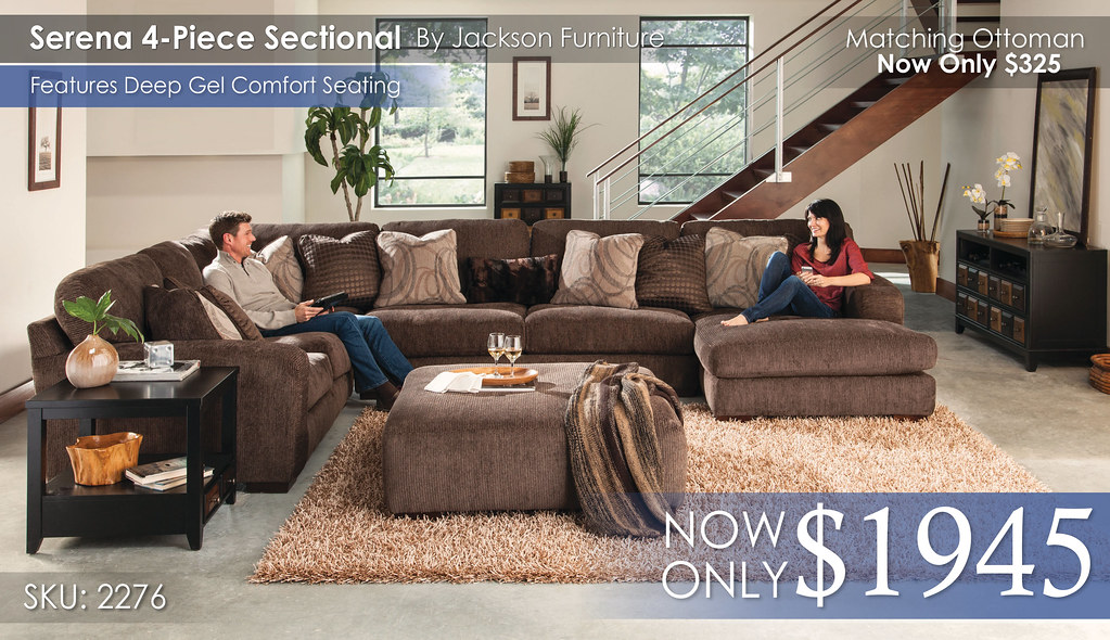 Serena 4PC Sectional 2276