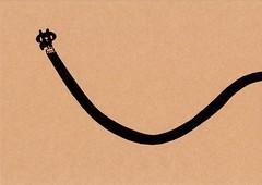 クラフト紙21_ペンキを塗る黒プレーン