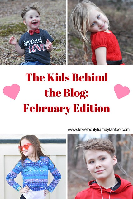 The Kids Behind the Blog - February Edition