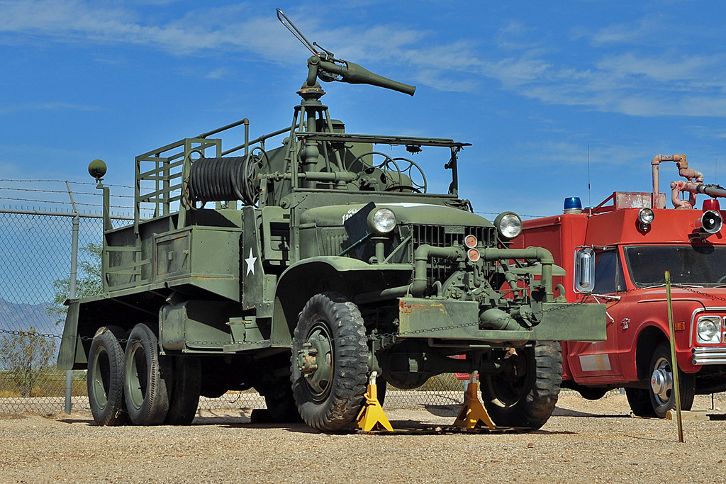 GMC CCKW Airport Fire Truck | Ex-US Army GMC CCKW Airport ...