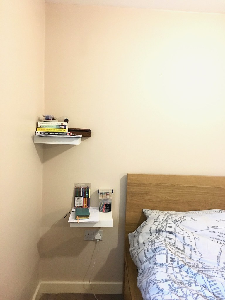Floating shelves - my side