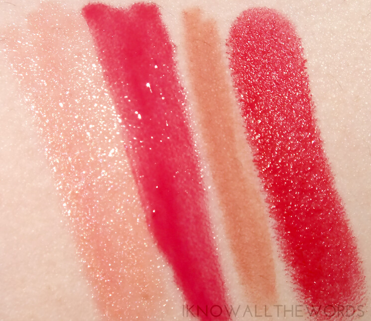 A little bit Lippy with Arbonne swatches