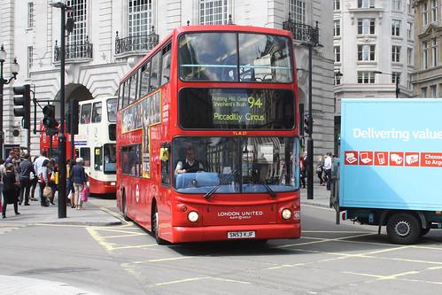 London United TLA27 SN53KJF