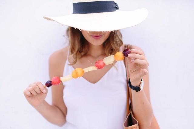 Easy Frozen Fruit Sticks