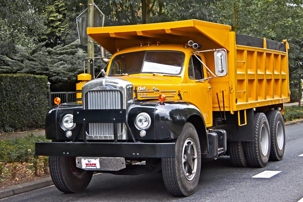 1964 Mack B Model : Mack b tipper