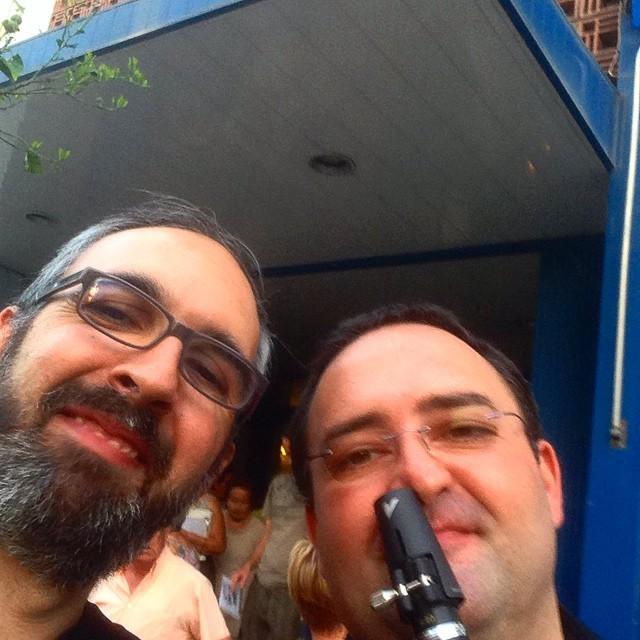 L'amic Ramon, fidel a la cita anual, ha vingut a veure #elisiramorelalira