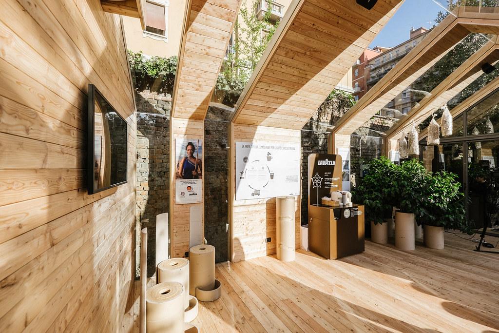Il sustainability hub lavazza novamont in cascina cuccagna for La cascina cuccagna milano
