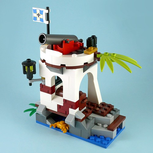 LEGO Pirates 70410 Soldiers Outpost 05
