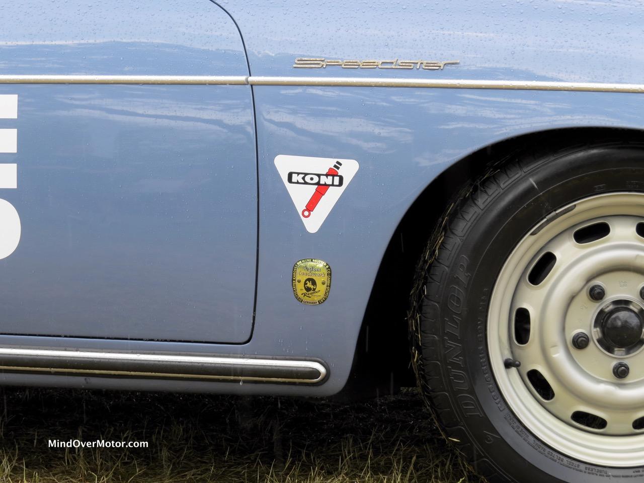 1957 Porsche 356A Speedster Coachbuilder Shot