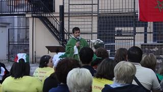 Nel piazzale, la messa con Don Ciccio4
