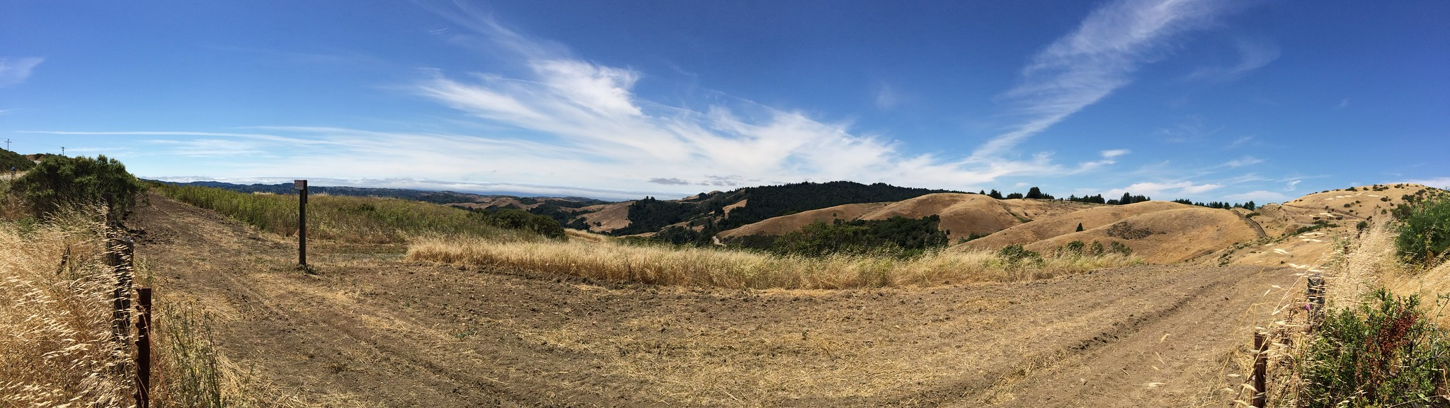 Windy Hill on Skyline. #panorama