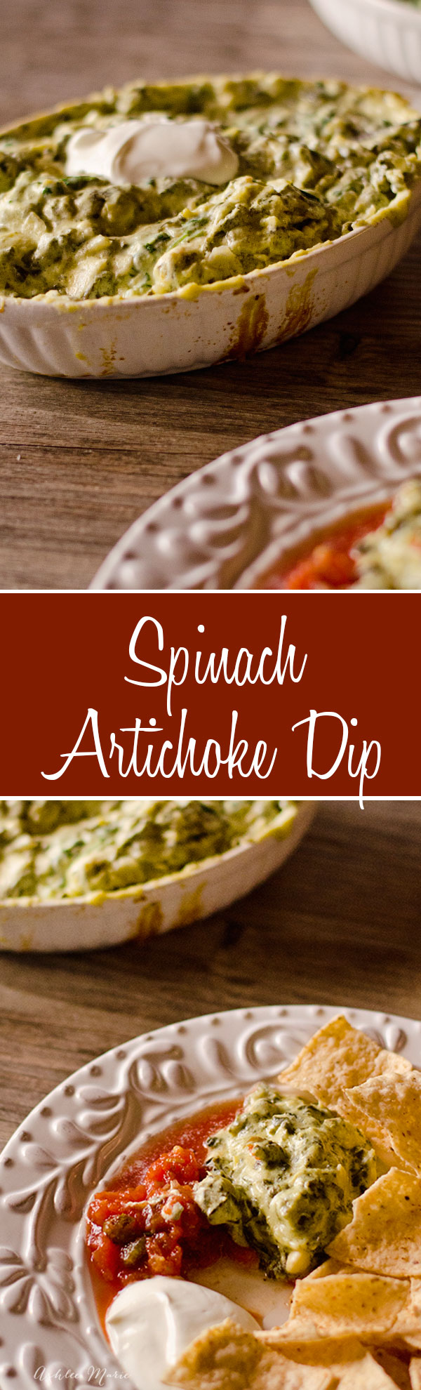 the best spinach artichoke dip you will ever try, warm, cheesy and seriously so good