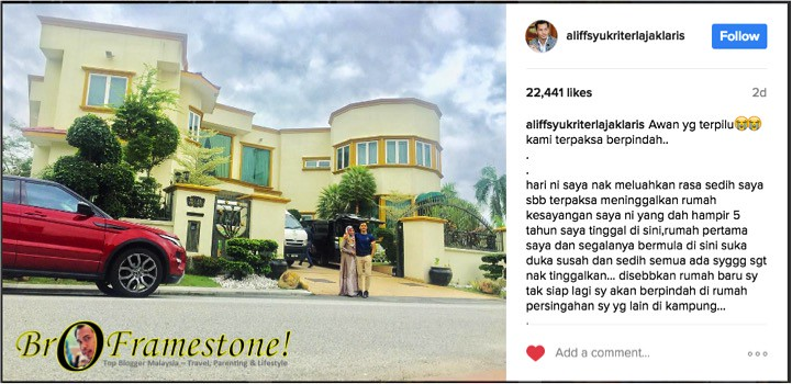 Kediaman Dato' Aliff Syukri Dijual