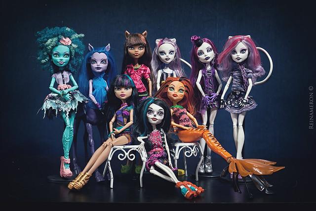 My Monster High dolls