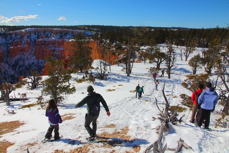 IMG_9186 Ranger-Led Snowshoe Walk, Bryce Canyon National Park