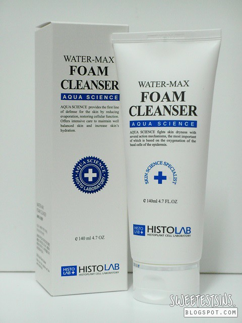 histolab water max foam cleanser