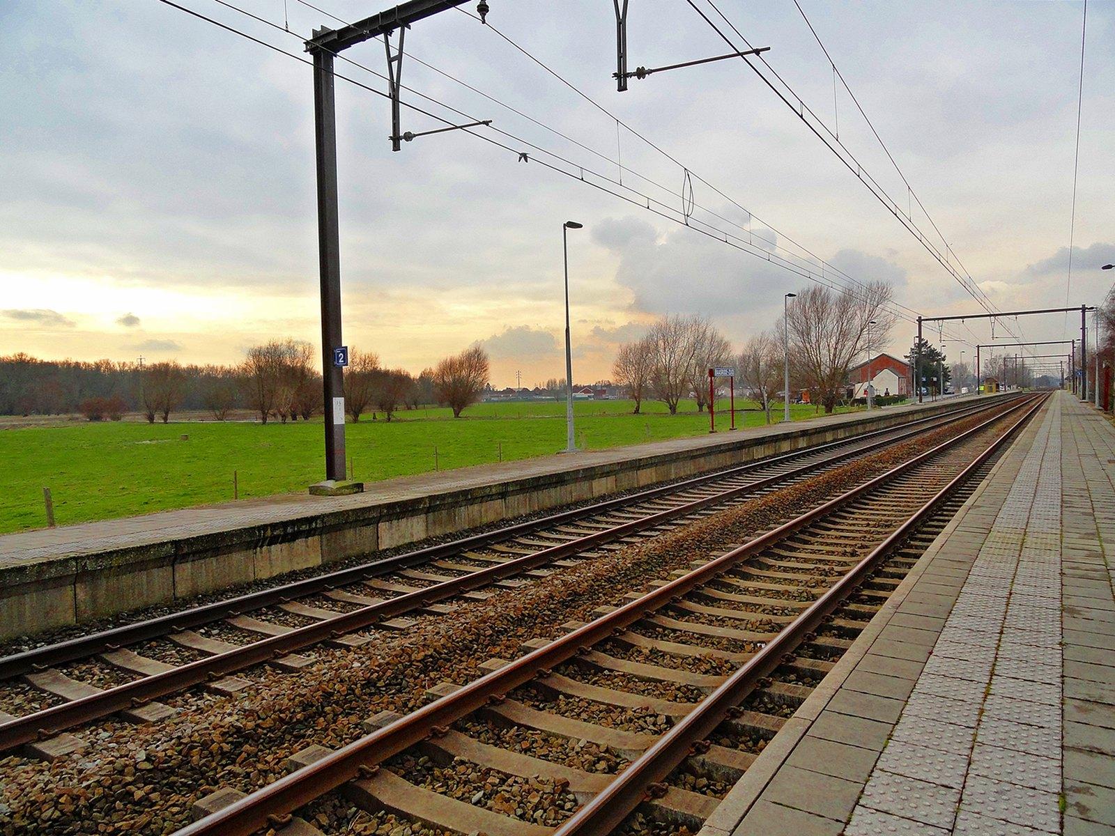 Baasrode-Zuid Station, Baasrode, Belgium