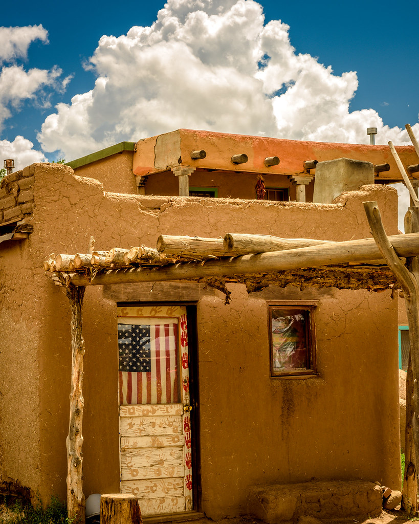Picture/Photo: Multi-story pueblo houses with ladders ...  |Taos Pueblo New Mexico Usa