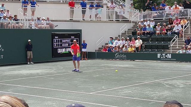 Agassi-Sampras match at The Greenbrier