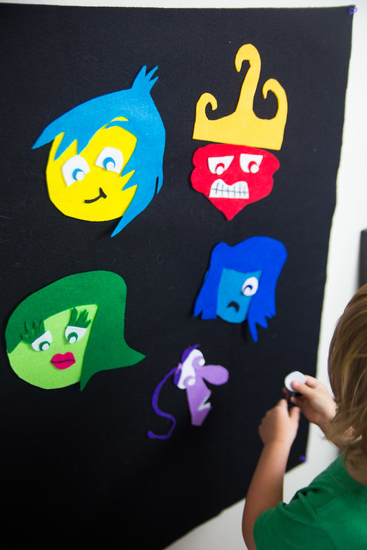 Inside Out Party Felt Character Activity