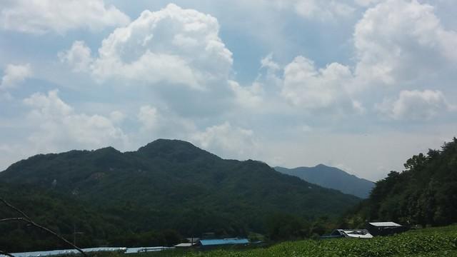 시골집 풍경-승무산