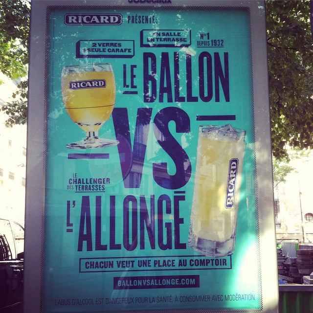 Ricard ad. #summerinFrance #pastis #lifeinFrance