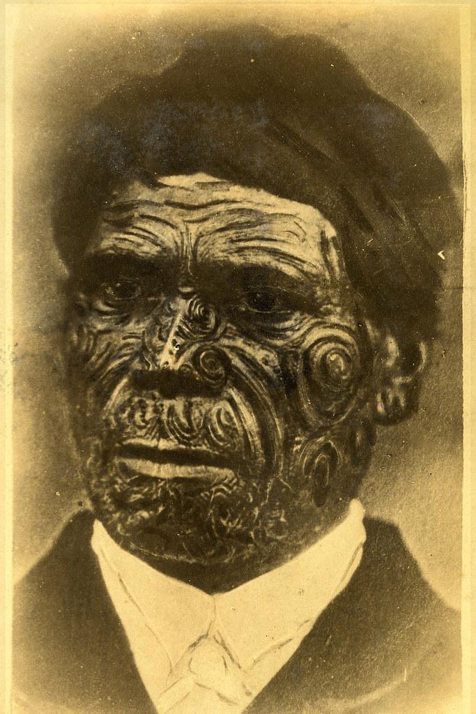 Maori Tapu: Māori Portrait With Tā Moko