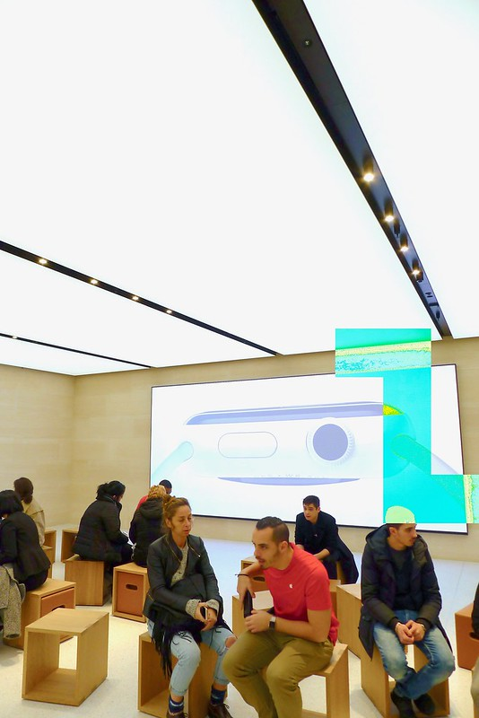 Apple Store - Marché Saint-Germain - Paris
