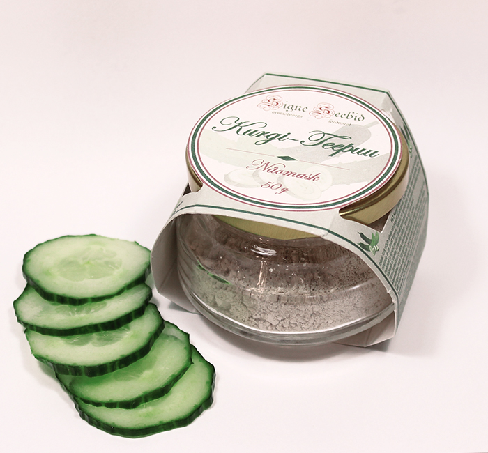 Signe Seebid Cucumber and Tea Tree face mask
