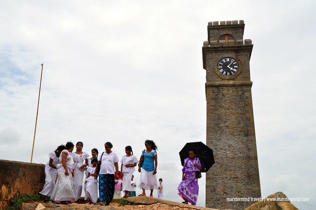 Tourists at Galle Dutch Fort