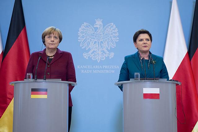 Wizyta kanclerz Angeli Merkel w Polsce