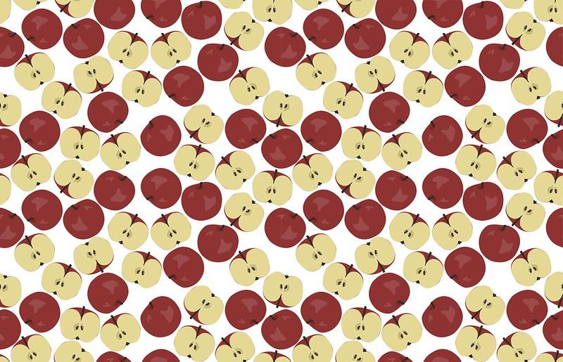 äpplen ihop