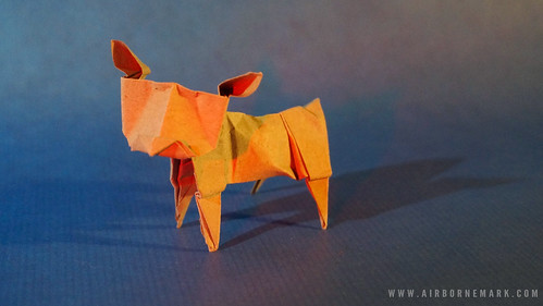 Origami Dog Reference