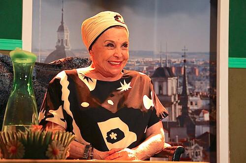 Mª Luisa Merlo vuelve a actuar en Dos Hermanas