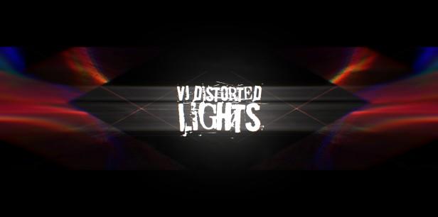 VJ Distorted Lights (4K Set 10)