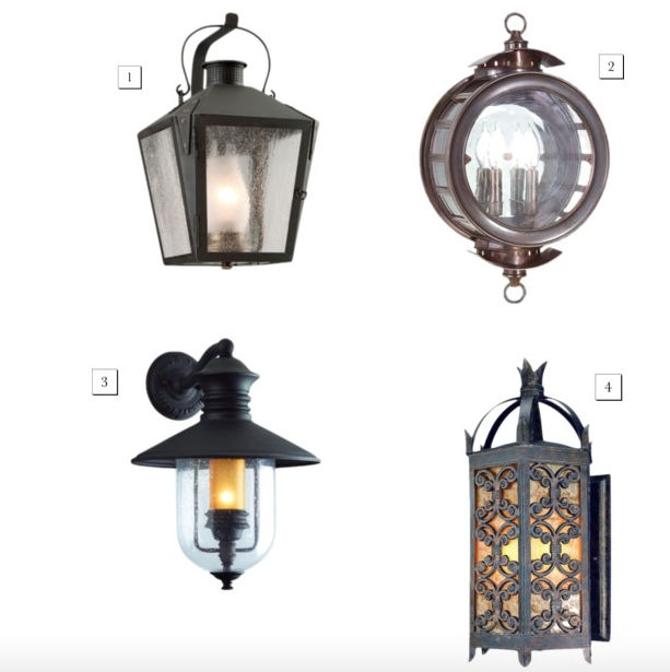 Lanterns from Barn Light Electric