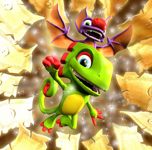 Yooka-Laylee Gone Gold