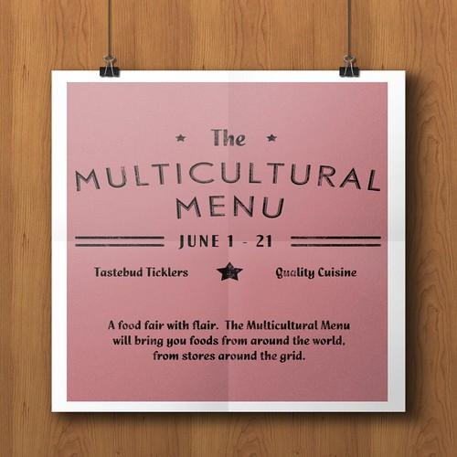 Multicultural Menu