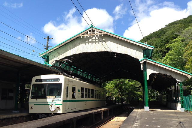 2015/06 叡山電車×きんいろモザイク ラッピング車両 #27