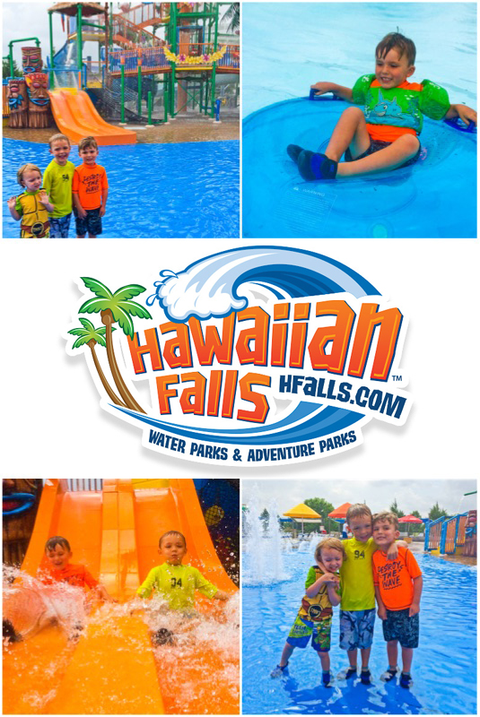 Hawaiian Falls Collage