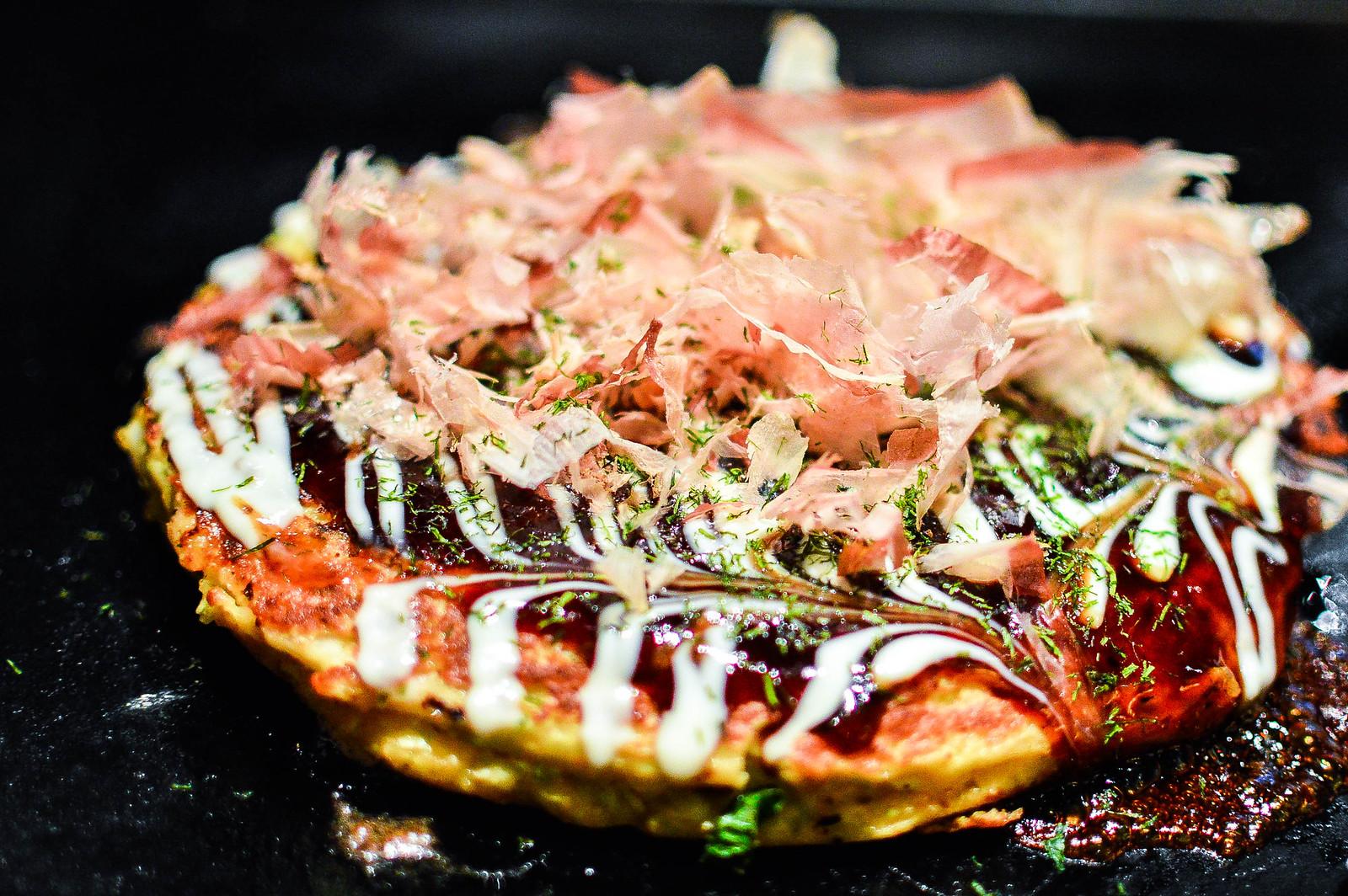 Okonomiyaki Dotombori, Osaka