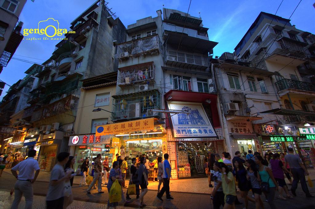Busy Macau