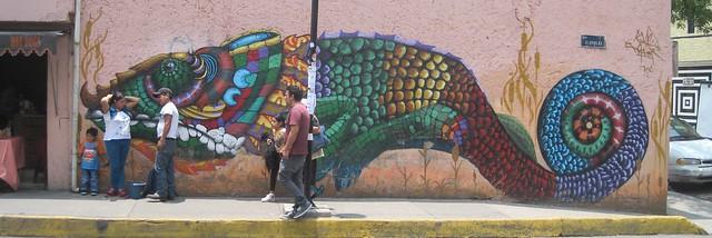 Gecko street art
