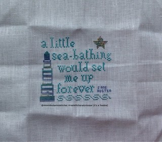 Seaside Freebie by The Sampler Girl