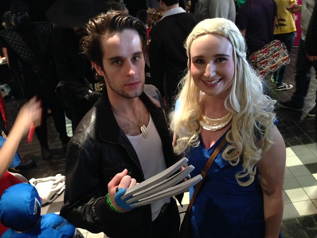 Preston Comic-Con 2015 - Wolverine and Daenerys Targaryen