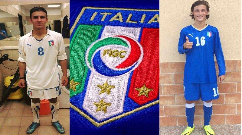 Gaetano Bellanca, a sinistra in maglia bianca, e Gianmarco Distefano