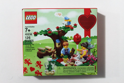 LEGO Seasonal Romantic Valentine Picnic (40236)