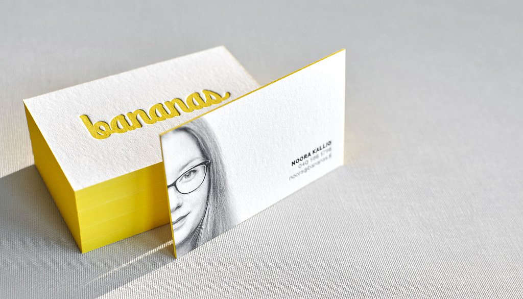 Letterpress business card with portrait yes we have high flickr letterpress business card with portrait by elegantepress colourmoves
