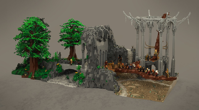 LEGO MOC The Hobbit Thandruil